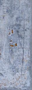Whispering no 7 (2016) graphite/oxidized zinc 59 x 20 cm