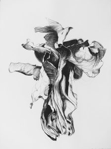 Untitled (2015) charcoal/Saunders Waterford 300g, 76x56 cm